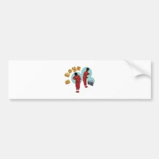 Dancing B Boyz Bumper Sticker