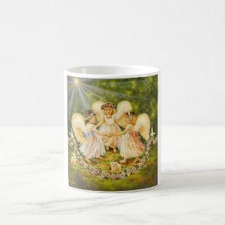 Dancing Babies Angels Mug