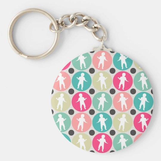 Dancing Babies Keychain