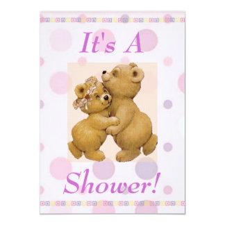 Dancing Baby Shower Invitation