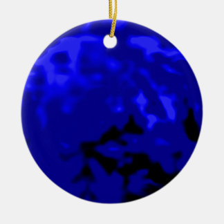 Dancing Ball Blue Silver Trans MUSEUM Zazzle Gifts Christmas Tree Ornaments