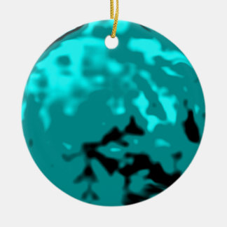 Dancing Ball Cyan Red Trans MUSEUM Zazzle Gifts Christmas Tree Ornaments