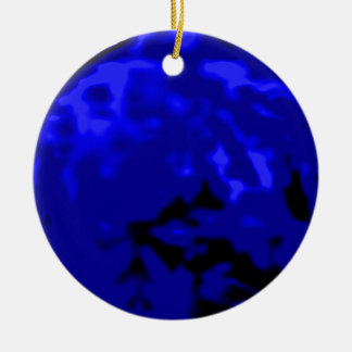 Dancing Ball Gold Blue Trans MUSEUM Zazzle Gifts Christmas Tree Ornament