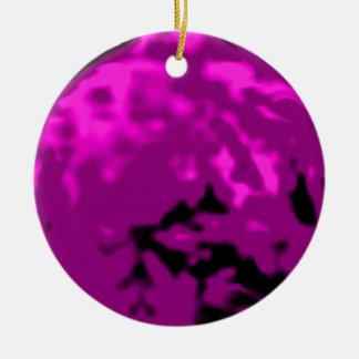 Dancing Ball Gold Purple Trans MUSEUM Zazzle Gifts Ceramic Ornament