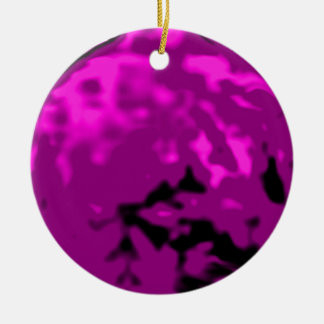 Dancing Ball Gold Purple Trans MUSEUM Zazzle Gifts Christmas Tree Ornaments