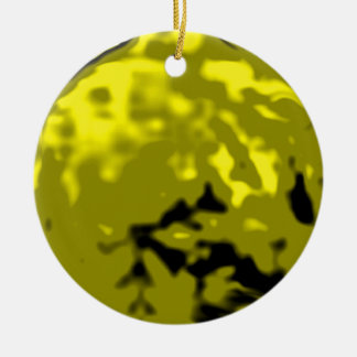 Dancing Ball Gold Yellow Trans MUSEUM Zazzle Gifts Ornament
