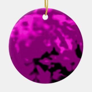 Dancing Ball Purple Cyan Trans MUSEUM Zazzle Gifts Christmas Ornament