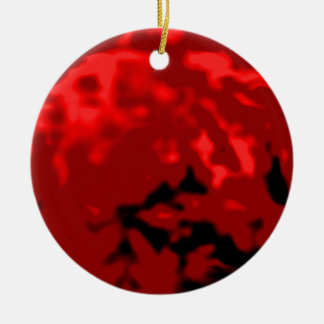 Dancing Ball Red Red Trans MUSEUM Zazzle Gifts Ceramic Ornament