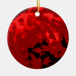Dancing Ball Red Silver Trans MUSEUM Zazzle Gifts Christmas Tree Ornaments