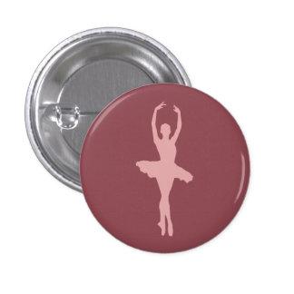 Dancing Ballerina Button