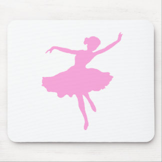 Dancing Ballerina in Pink Mouse Pad
