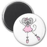 Dancing Ballerina Mouse Magnet Fridge Magnets