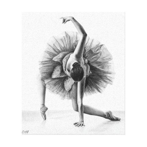 ballerina pencil drawing - photo #42