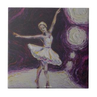 Dancing Ballerina Tile