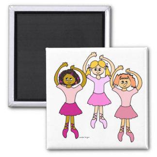 Dancing Ballerinas Magnet