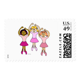 Dancing Ballerinas Stamps