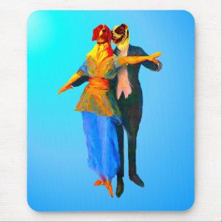 Dancing Ballroom Dogs Mouse Pad