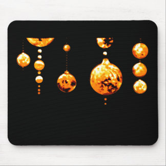 Dancing Balls Gold Transp MUSEUM Zazzle Gifts Mouse Pad