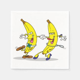 Dancing Bananas Paper Napkins