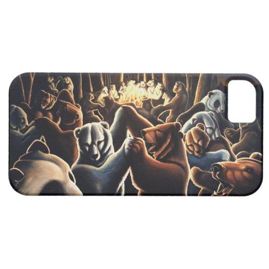 Dancing Bear IPhone 5 Case Wildlife Art  Bear Gift