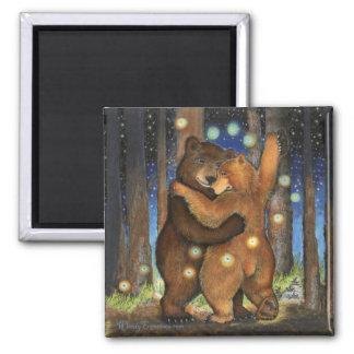 Dancing Bear Fridge Magnets