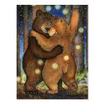 Dancing Bear Postcard