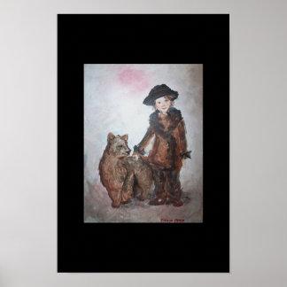 Dancing Bear Poster