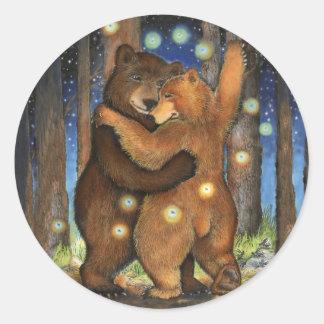 Dancing Bear Sticker