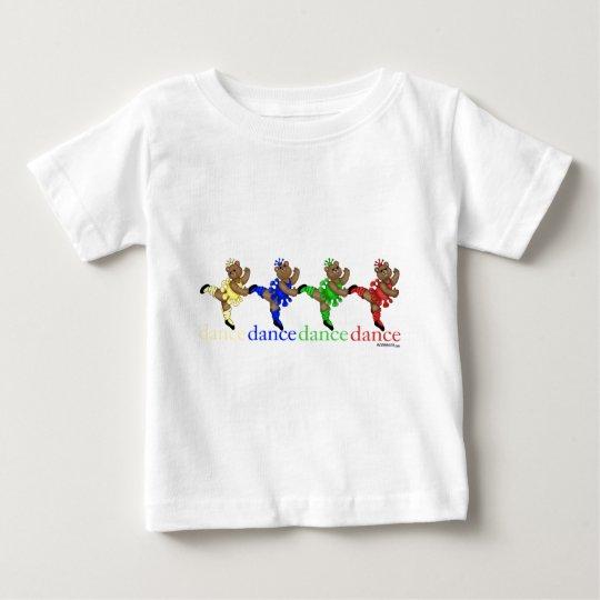 Dancing Bears Baby T-Shirt