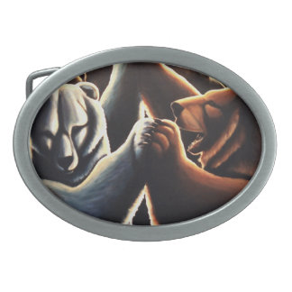 Dancing Bears Belt Buckle Bear Party Buckles