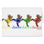 Dancing Bears Greeting Card