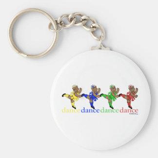 Dancing Bears Keychain