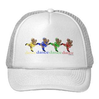 Dancing Bears Trucker Hats