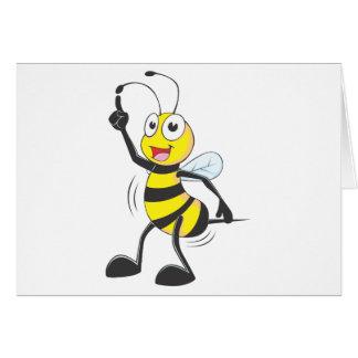 Dancing Bee Card