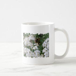 Dancing Bee Classic White Coffee Mug
