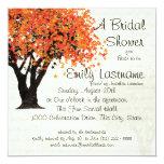 Dancing Blooms Tree Bridal Shower Custom Invitation