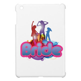 dancing blue pink bride to be future mrs gifts iPad mini cases