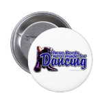 Dancing Boots 2 Inch Round Button