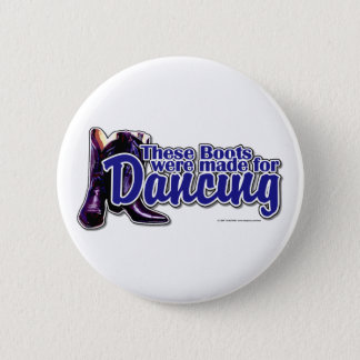 Dancing Boots Button
