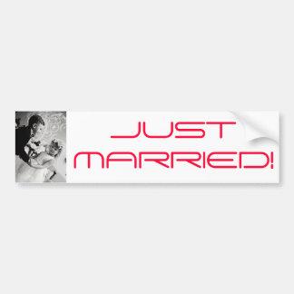 dancing Bride and groom Bumper Sticker
