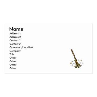 Dancing Broom Business Card