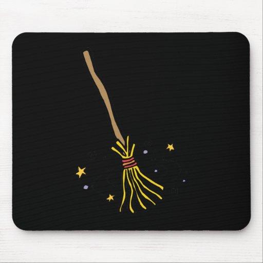Dancing Broom Mousepads