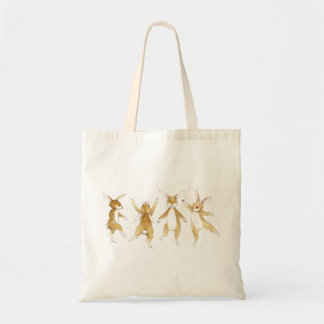 Dancing Bunnies Tote Bag