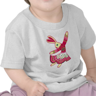 Dancing Bunny Tee Shirts