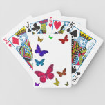 Dancing Butterflies Bicycle Playing Cards