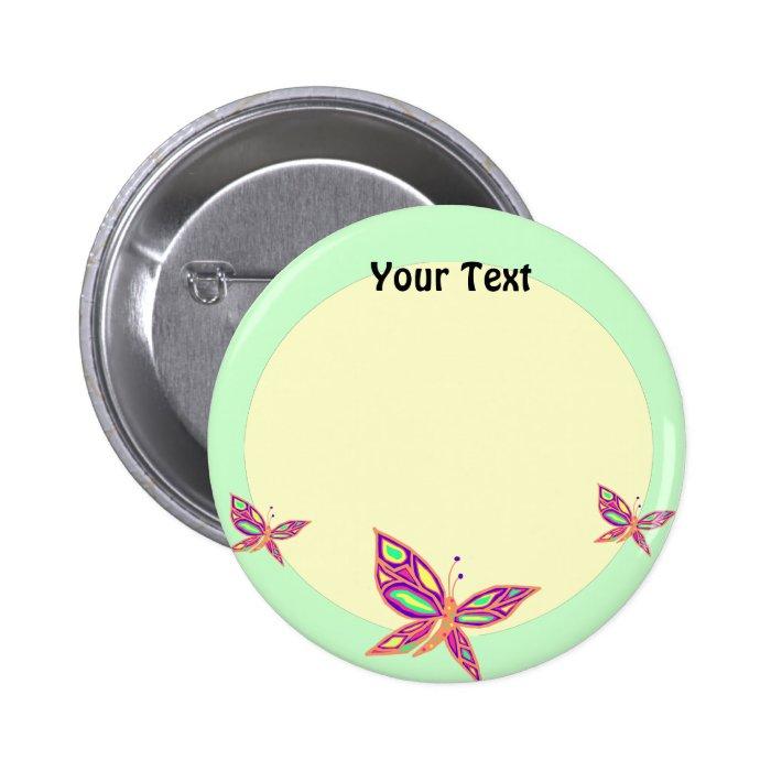 Dancing Butterflies Button