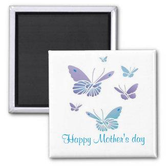 Dancing Butterflies, Happy Mother's day Fridge Magnet
