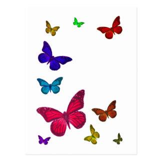 Dancing Butterflies Postcard