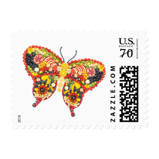dancing butterfly postage