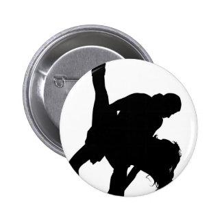 Dancing Pinback Button